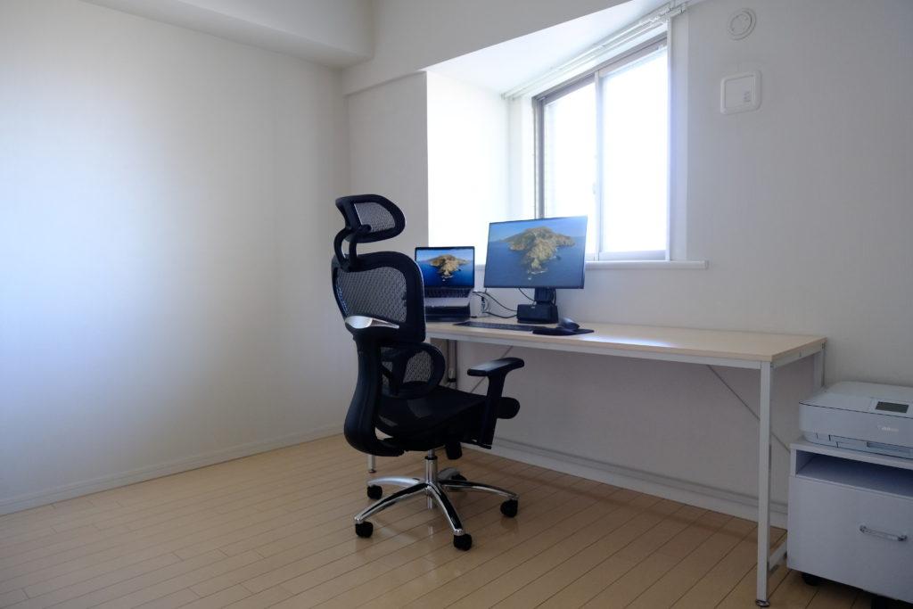 【インテリア紹介】ウチヤマ家の仕事部屋 ver1.0